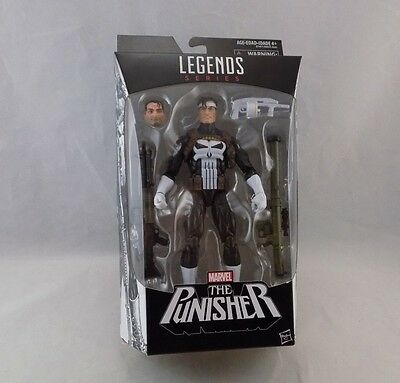 MARVEL LEGENDS series 6 inch THE PUNISHER New in Box Sealed Walgreens exclusive