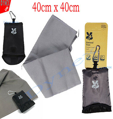 National Trust Microfibre Super Soft Gym Towel Fitness/Exercise Sports Face Hand