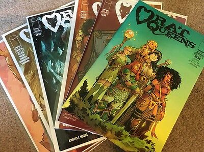 Rat Queens #11-16 1st Prints Image 2015/16 NM