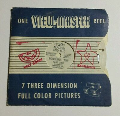 FT-50B Aladdin and the Wonderful Lamp Part Two 1951  View-master Single Reel