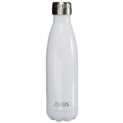 Oasis     Stainless Insulated Water Bottle 750ml - White
