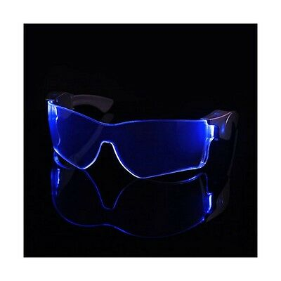 Cyber Vizor - Wireless Light Up Blue LED Glasses