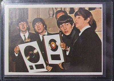1964 Topps The Beatles Diary Card Single #35A Ex-Nm