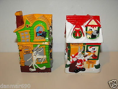 Lot of 2 Russell Stover Candies Looney Tunes 1997 Plastic