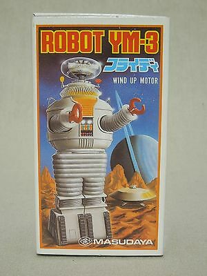 1985 Masudaya Lost in Space Robot YM-3 wind-up Made in Japan wind-up