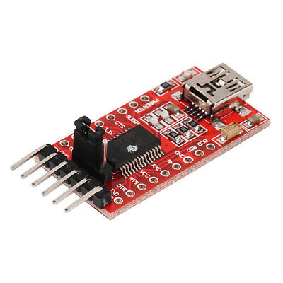 FTDI FT232RL USB to TTL Serial Converter Adapter Module 5V and 3.3V hot OK