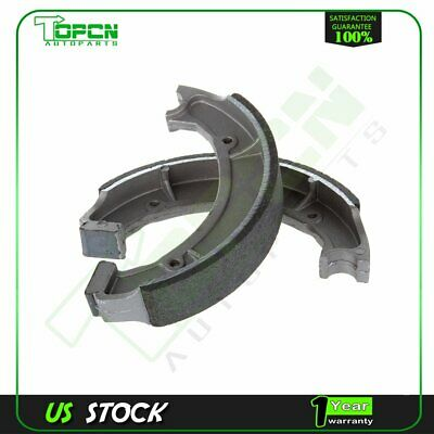 NEW BONDED REAR BRAKE SHOES FOR YAMAHA BIG BEAR 350 YFM350 1999