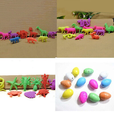 10X Magic Dino Egg Growing Hatching Dinosaur Add Water Child Inflatable Toy AT