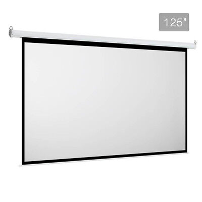 Brand New Electric Projector Screen - 317 cm