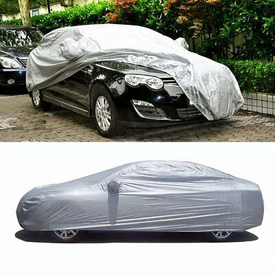 Large Size Full Car Cover Outdoor Indoor UV Waterproof Rain Dust Protection【UK】