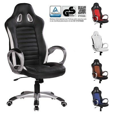 FineBuy silla de oficina RACING Gaming Executive silla giratoria silla Racer XXL