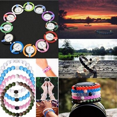 New Silica gel Bracelet Loka Mud from Dead Sea water from MT Everest Silicone