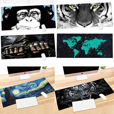 "Large XL Extended Gaming Mousepad  Speed Control Game Mouse Mat Pad 35""x15"""