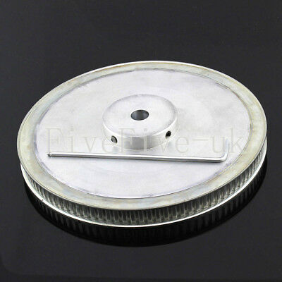 XL-100T 0.2'' 1/5'' Pitch 11mm 10/12mm Bore Timing Belt Pulley 100 Teeth CNC