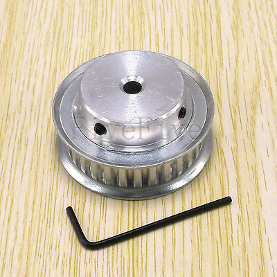 XL-30T 0.2'' 1/5'' Pitch 11mm Timing Belt Pulley 30 Teeth CNC - Choose Bore Size