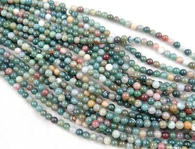 """Wholesale India agate Gemstone Round Loose Beads Jewelry 6mm 15"""""""