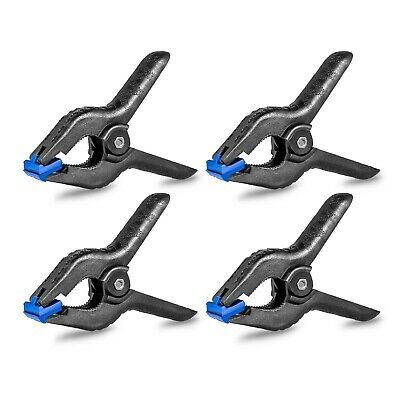 Phot-R x4 Pro Background Paper Muslin Clamp Clip Studio Photo Backdrop Support
