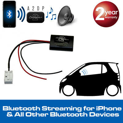 VW Caddy 2004> A2DP Bluetooth Streaming Interface Adaptor Ideal for iPhone 7 New