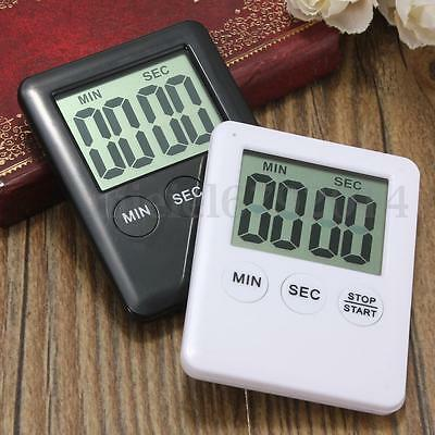 Electronic Digital LCD Magnetic Countdown Kitchen Timer Count Down Egg 99 Minute