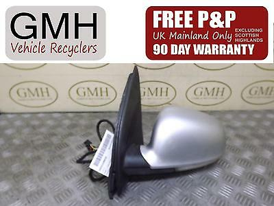 Volkswagen Golf Left Passenger Nearside Electric Wing Mirror 2004-2009 §