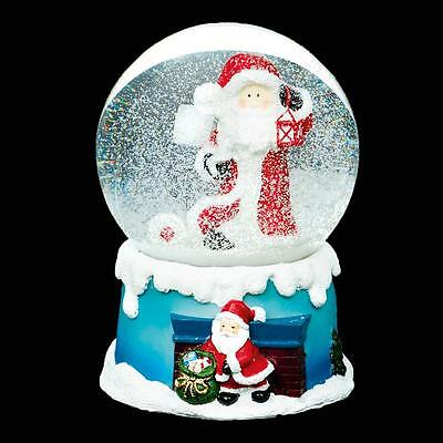 Christmas 100mm Musical Snow Globe MO141041 - Santa