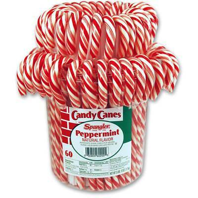 Peppermint Candy Canes 1-60 count jar