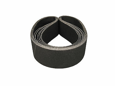 3 X 21 Inch 220 Grit Silicon Carbide Sanding Belts, 8 Pack