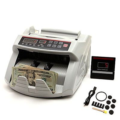 NuLink™ Professional Currency Bill Cash Banknote Money Counter Machine With UV &