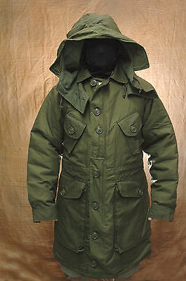 New Canadian military parka Sz 7 long small