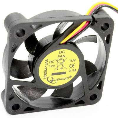 Case Fan for PC Tower 50mm x 50 x 10mm 12V 0.12A Sleeve Bearing [006766]
