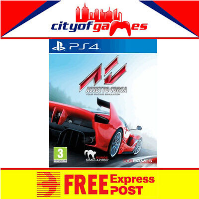 Assetto Corsa PS4 New & Sealed Free Express Post In Stock Now