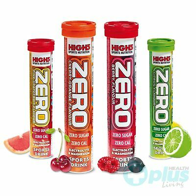 High5 Zero Hydration Electrolyte Sports Drink Vitamin Tablets