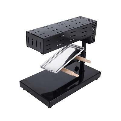 NUTRICHEF PKCHMT17 Raclette Cheese Melter Swiss-Style Counter or Tabletop