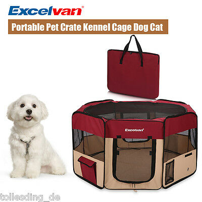 Oxford Fabric Soft Pet Travel Crate Kennel Cage Carrier House Dog Cat Tent Playp