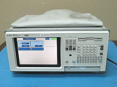 AGILENT 1672G OPT 002 PORTABLE LOGIC ANALYZER 68-CHANNEL Excellent Condition