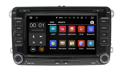 Android  DAB+ AUTORADIO f. VW T5 MP3 Seat Skoda Passat Golf Bluetooth GPS DVD SD