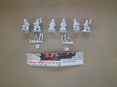 25mm West Wind Productions WWII Japanese Medium Mortars with crews
