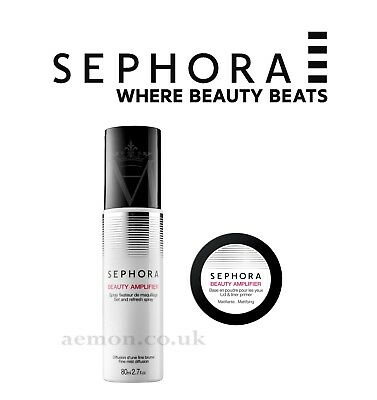 Sephora Beauty Amplifier lid& liner primer mattifying or Set & refresh spray
