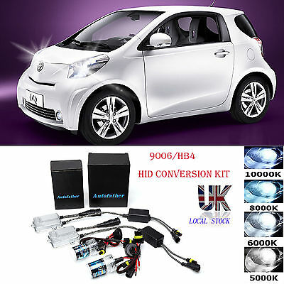 For Toyota Iq 9006/hb4 Xenon Hid Conversion Kit Headlight Bulb Ballast 55W 6000K