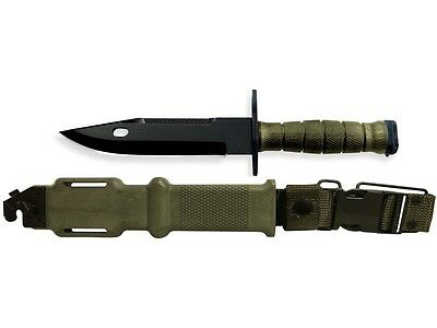 New M9 knife Tri Technologies -with scabbard Rare USGI unissued  Fighting