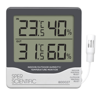 Remote Relative Humidity/Temperature Monitor - 800027
