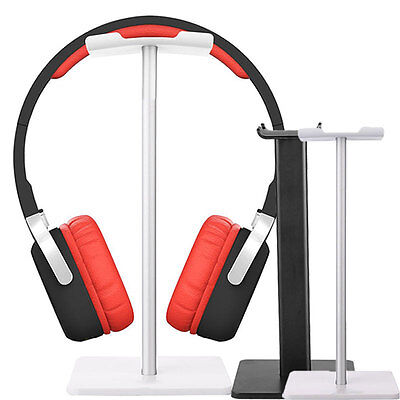 New Display Gaming Headset Holder Headphone Hanger Stand Bracket Black/Silver