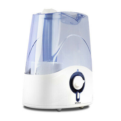 Brand New Ultrasonic Cool Mist Air Humidifier 4.5L White Blue