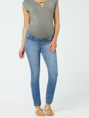 NEW Jeanswest Womens Maternity Skinny Jeans  Soft Blue Jeans
