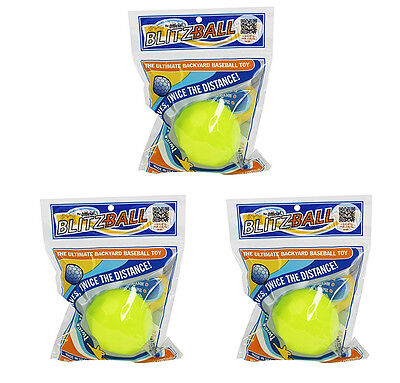 Blitzball Plastic Baseball (3 Pack)