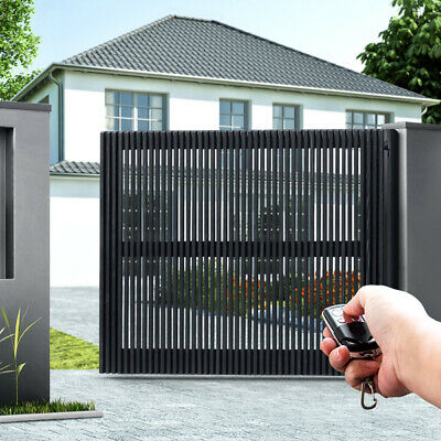 Automatic 1 Arm Swing Gate Opener with 2 Remote Controls