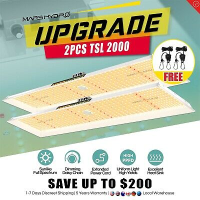 Reflector 300W LED Grow Light Veg Flower +2'x2' Indoor Grow Tent Kit