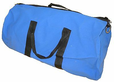 Rip-stop Canvas Bag , Blue. Great for Travel, Storage. Kit Bag  - Super Strong