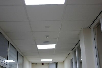 40 x Rockfon Sofit Artic Suspended Ceiling Tiles 600 x 600 MINERAL ROCK WOOL