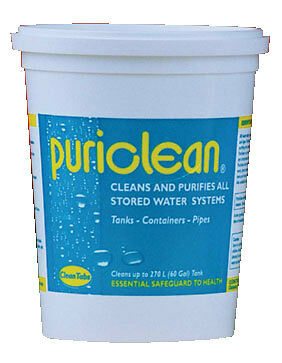 Puriclean Water Storage System Purification 400g Motorhomes, Caravans & Boats